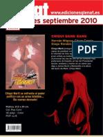 Novedades Glénat Septiembre 2010