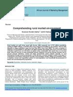 Comprehending Rural Marketing Env