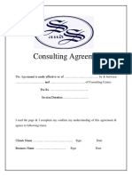 Consulting Form