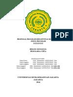 Kerangka Proposal PKM KC 2016