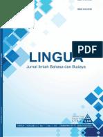 LINGUA STBA LIA (Vol. 13, No.1 SEPTEMBER 2017)