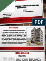 Gestion de La Seguridad y La Salud Ocupacional en La Construccion