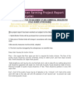 203389830 Broiler Chicken Farming Project Report
