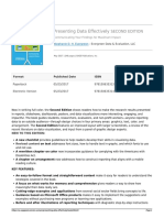 Presenting Data Effectively (Flyer) - Stephanie D. H. Evergreen - Sage Publications Inc.
