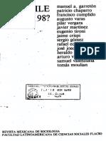 11. Las Relaciones Exteriores Del Gobierno Militar... Heraldo Muñoz