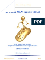 Az Online MLM Rejtett TITKAI