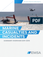 Emsas Summary Overview of Marine Casualties and Incidents