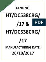 Tank Nos - 315KVA