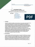 Procedures Marketing Communications Sop