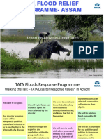 Assam Floods Relief Program 2016