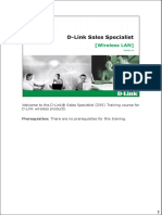 DSS-WLAN Training Material V1.0