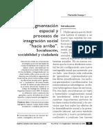 Svampa Sociabilidad y Socializacion
