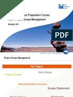 PMP Project Scope Management PMBOK V4.0