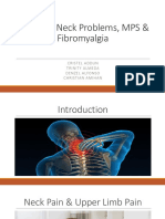 Common Neck Problems MPS Fibromyalgia