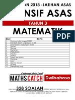 [PERCUMA] Modul Latihan Asas Persediaan Maths Tahun 3 (Dwibahasa)