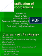 classificationofmicroorganismslecturenotebyrmpatel-110924051904-phpapp02