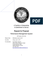 RFP Performance Management 2017 # HR111601