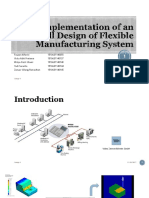 Implementation of an Overall Design of Flexible Manufacturing