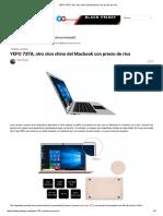 YEPO 737A, Otro Clon Chino Del Macbook Con Precio de Risa