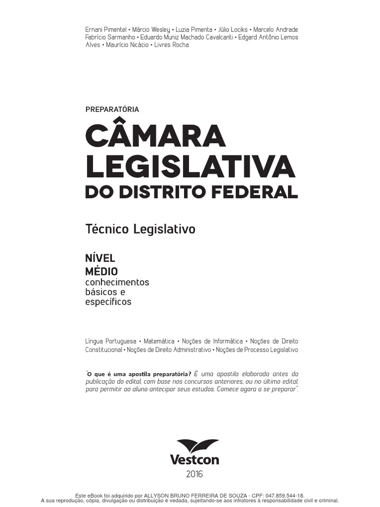 2289e2f5e8b Camara Legislativa Tecnico Legislativo