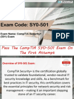 CompTIA SY0-501 Braindumps