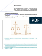 Comparison of AC and DC Transmission