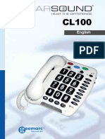 Geemarc CL100 End User Guide