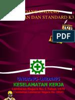 UU, Standard Dan Aturan K3