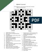 Fce Crossword