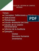 Ejemplos de Auditoria Por áreas