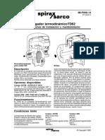 Trampa termodinámica TD62 - Spirax Sarco.pdf