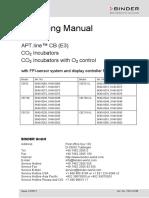 5715 Binder Co2 Broedstoof Cb Series Manual Eng