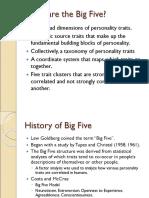 Big 5 Factor
