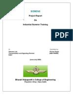 Akshat Training Report