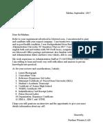 Job Resume Attachment.doc