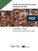 UNAC - Boletim de Mercado Da Cortiça - Campanha 2012