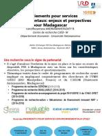 PSE Madagascar Enjeux Et Perspectives