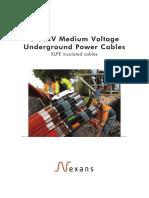 Medium Voltage Underground Power Cables Catalogue