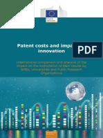 2016 12 19 Costes de Patentes y Su Impacto en Innovacion