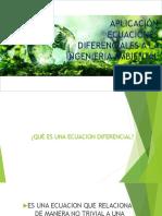 Aplicación Ecuaciones Diferenciales a La Ingenieria Ambiental
