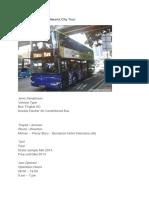 Bus Tingkat Wisata Jakarta City Tour