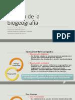 Historia de La Biogeografía