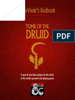 D&D5e - Class - AlanVenic Tome of the Druid