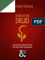 D&D5e - Class - AlanVenic Tome of the Druid