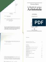 """La filosofia del """"primo"""" Aristotele"""