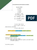 Analisis de Aceleracion de Mecanismo de 4 Barras