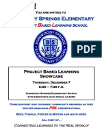 pbl showcase flyer - 11 9 2017