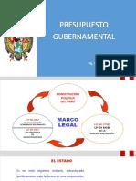 Presupuesto Gubernamental