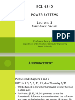 POWER SYSTEMS LECTURE 3