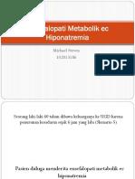 Ensefalopati Metabolik Ec Hiponatremia
